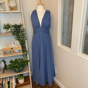 🆕ASOS V neck maxi formal dress